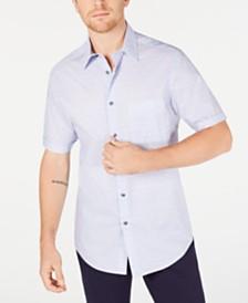 Tasso Elba Men's Medallion Print Shirt, Created for Macy's