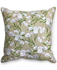 "Daisy Seed 18"" x 18"" Decorative Pillow"