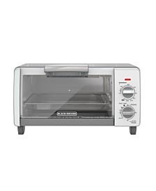 TO1785SG Crisp N' Bake Air Fry 4 Slice Toaster Oven