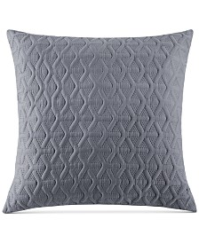 "VCNY Home Triangle Pinsonic 24"" x 24"" Decorative Pillow"