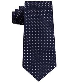 Tommy Hilfiger Men's Preppy Classic Dot Silk Tie