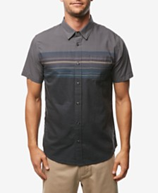 O'Neill Men's Thurston Chest Stripe Short Sleeve Woven