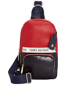 Tommy Hilfiger Julia Coated Canvas Sling Backpack