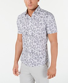 Michael Kors Men's Slim-Fit Stretch Blaine Shirt