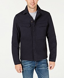 Men's Lightweight Utility Shirt Jacket