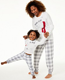 Matching Kids Lil Bear Pajama Set, Created For Macy's