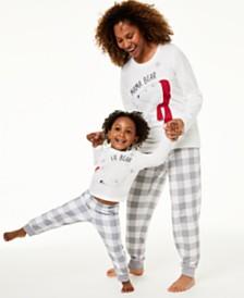 Matching Family Pajamas Kids Lil Bear Pajama Set, Created For Macy's