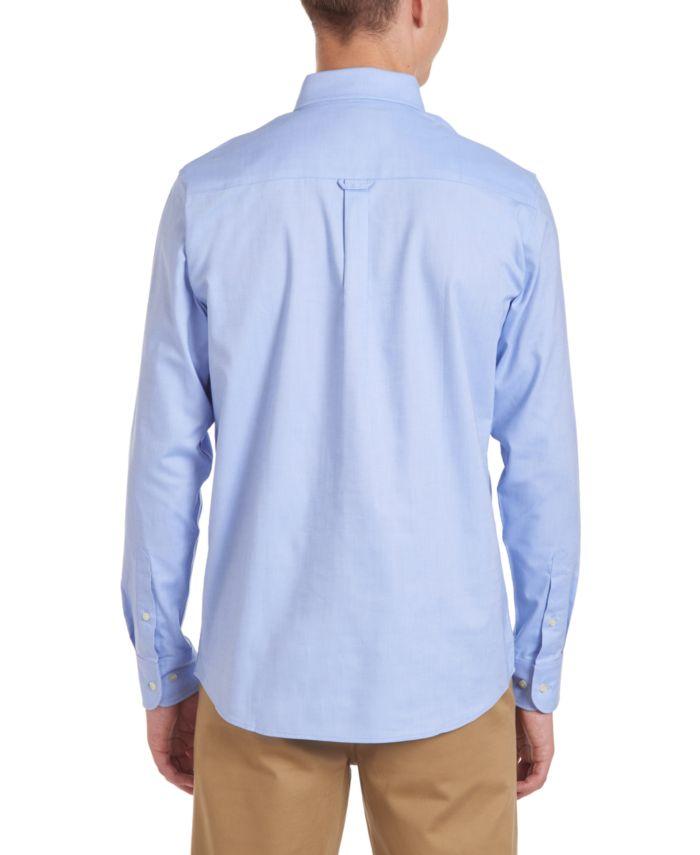 Nautica Young Men Long Sleeve Stretch Oxford & Reviews - Shirts & Tops - Kids - Macy's