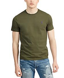 Polo Ralph Lauren Men's Solid Cotton T-Shirt