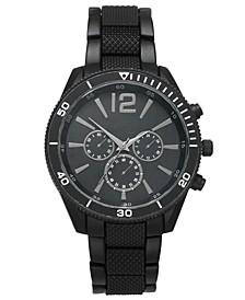 INC Men's Matte Black Bracelet Watch 48mm, Created for Macy's