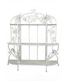 "Heather Ann Rosella 3 Shelf 48"" Baker's Rack"