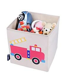 """Wildkin Fire Truck 10"""" X 10"""" X 10"""" Cube"""