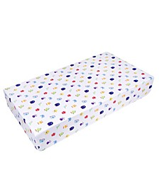 Monsters Fitted Crib Sheet