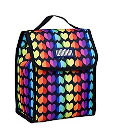 Rainbow Hearts Lunch Bag