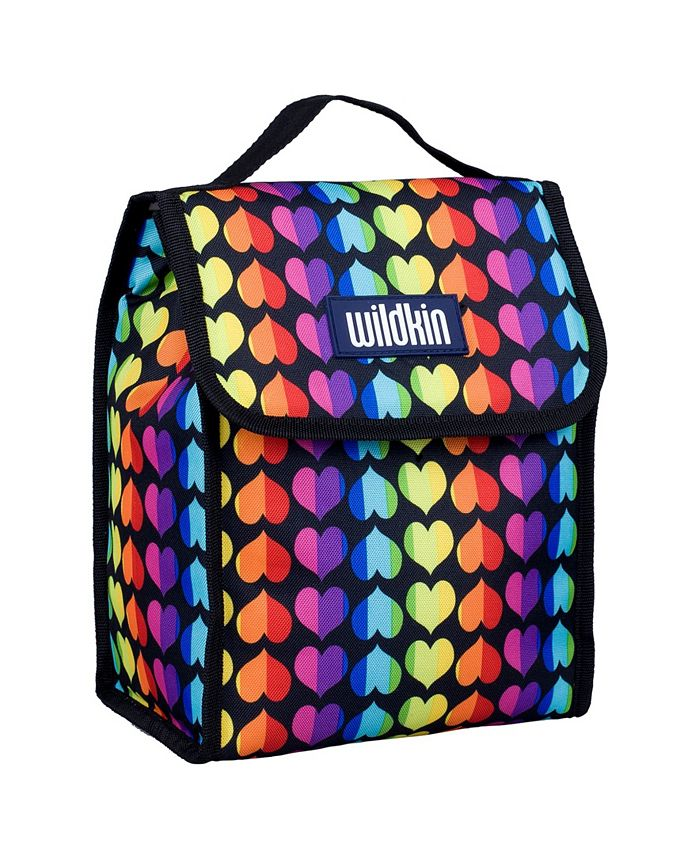 Wildkin - Rainbow Hearts Lunch Bag