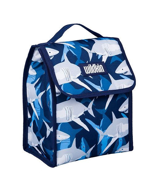 Wildkin Sharks Lunch Bag