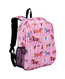 "Horses 15"" Backpack"