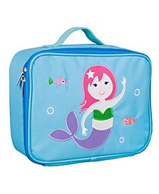 Mermaid Embroidered Lunch Box