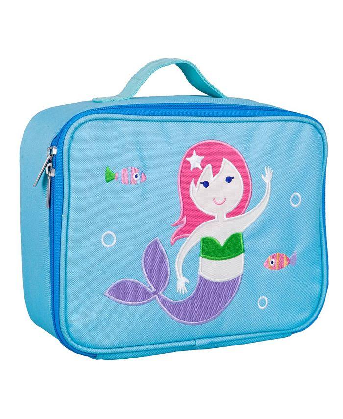 Wildkin - Mermaid Embroidered Lunch Box