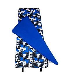 Wildkin's Blue Camo Original Nap Mat
