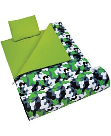 Wildkin Green Camo Sleeping Bag