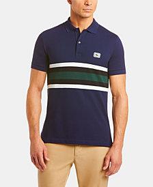 Lacoste Bold Stripe Colorblocked Polo Shirt