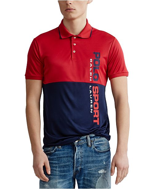 Polo Ralph Lauren Polo Ralph Lauren Men's Tech Classic Fit Polo Shirt
