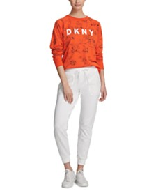 DKNY Sport Printed Logo Sweatshirt