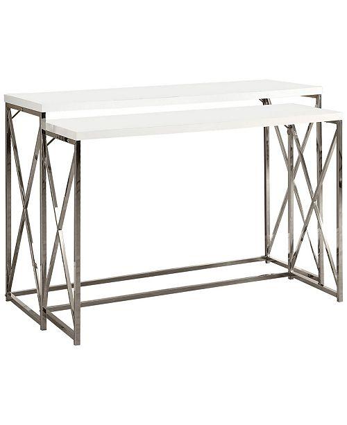 2 Piece Set Console Table