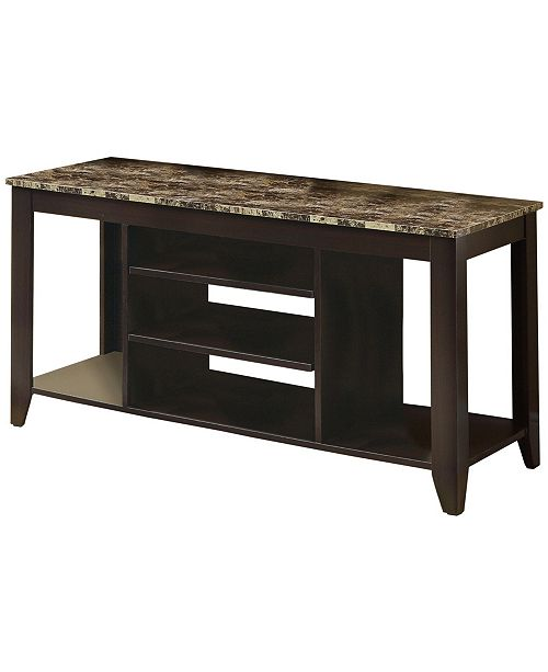 """Monarch Specialties 48"""" L TV Stand"""