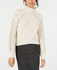 Chunky Mock-Neck Sweater