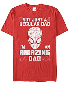 Men's Comic Collection Spider-Man I'm An Amazing Dad Short Sleeve T-Shirt
