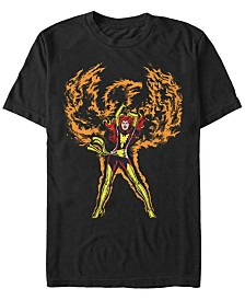 Marvel Men's Comic Collection The Phoenix Rises Short Sleeve T-Shirt