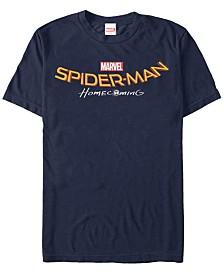 Marvel Men's Spider-Man Homecoming Logo Short Sleeve T-Shirt