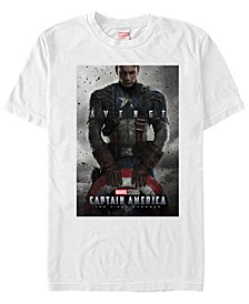 Men's Captain America The First Avenger Short Sleeve T-Shirt