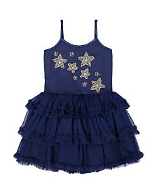 Masala Baby Girl Starry Night Tulle Dress