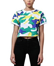 Brooklyn Camouflage-Print T-Shirt