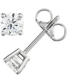 Diamond Stud Earrings (1/2 ct. t.w.) in 14k Gold