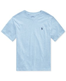 Polo Ralph Lauren Big Boys Jersey Cotton V-Neck T-Shirt