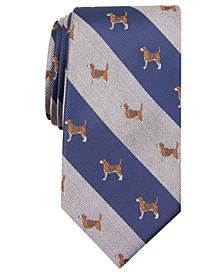 Men's Classic Beagle Stripe Tie, Created for Macy's