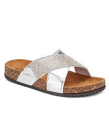 Olivia Miller Status Update Embellished Sandals