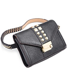 Michael Michael Kors Studded Leather Belt Bag