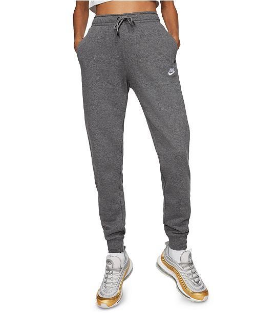 Nike Sportswear Essential Fleece Pants in 2020 | Cute