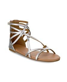 Largo Multi Strap Buckle Sandals