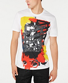 INC Men's Abstract Graphic T-Shirt, Created for Macy's
