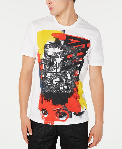 INC International Concepts INC Men's Abstract Graphic T-Shirt, Created for Macy's