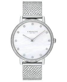 Women's Audrey Stainless Steel Mesh Bracelet Watch 36mm