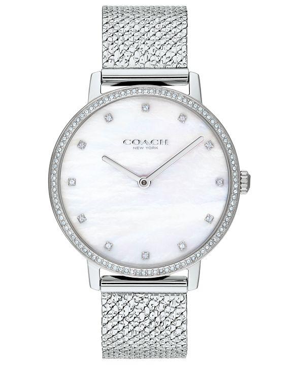 COACH Women's Audrey Stainless Steel Mesh Bracelet Watch 36mm
