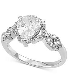 Swarovski Zirconia Ring in Sterling Silver