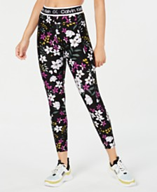 Calvin Klein Performance Midnight Garden Printed Leggings